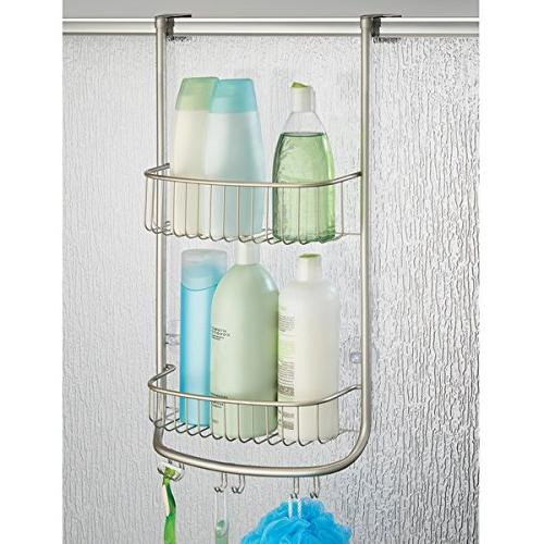 InterDesign Forma Shower Caddy, Shelves for and 1