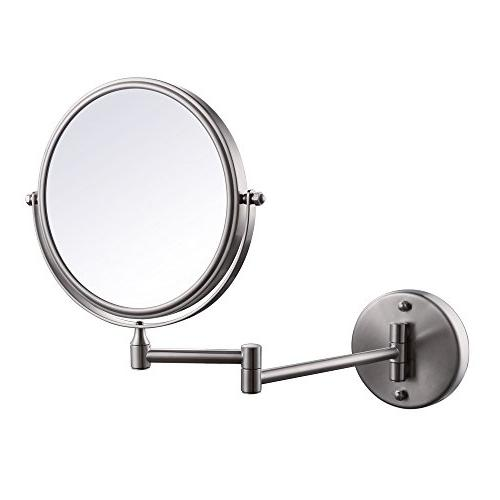 KES SUS304 Stainless Steel Bathroom 3x Magnification Two-Sid