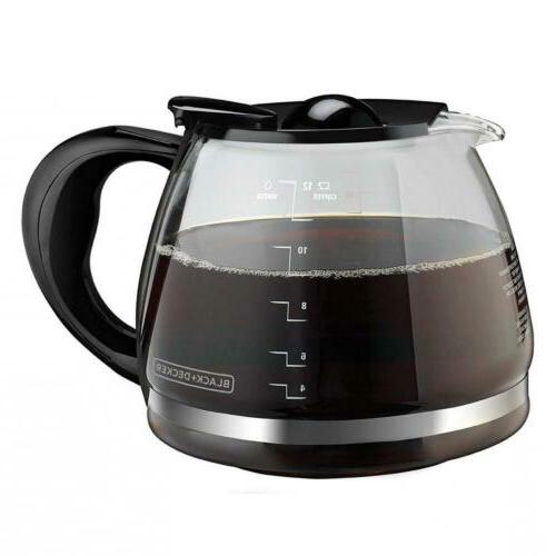 BLACK+DECKER Replacement Carafe with Duralife Construction,