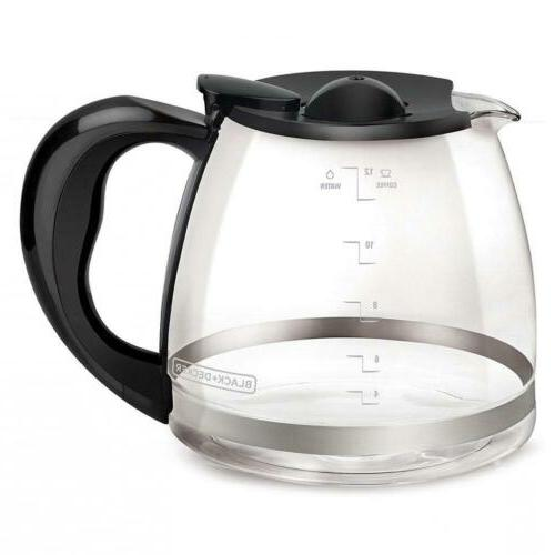 black decker 12 cup replacement carafe
