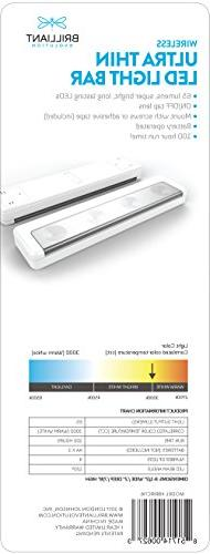 Brilliant Ultra Bar Battery Operated Lights | Kitchen Cabinet | Closet Light |Touch Light |Stick On