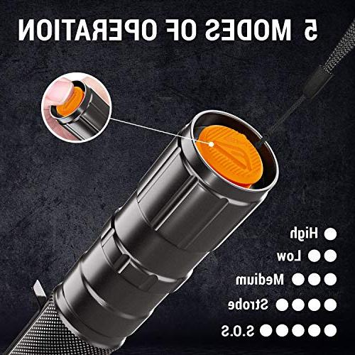 MsForce & Flashlights Water Provide 1080 Perfect for Indoor & Camping