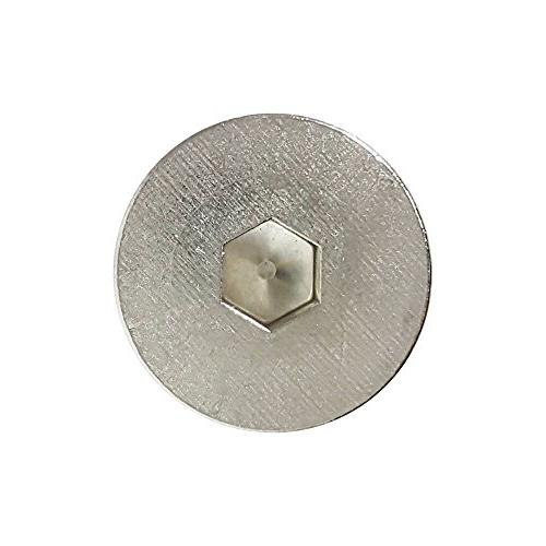 "1/4-20 1"" Head Cap 18-8 Steel, 25 Countersunk Head,"