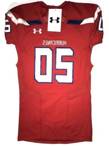 hurricanes 20 men large football jersey red