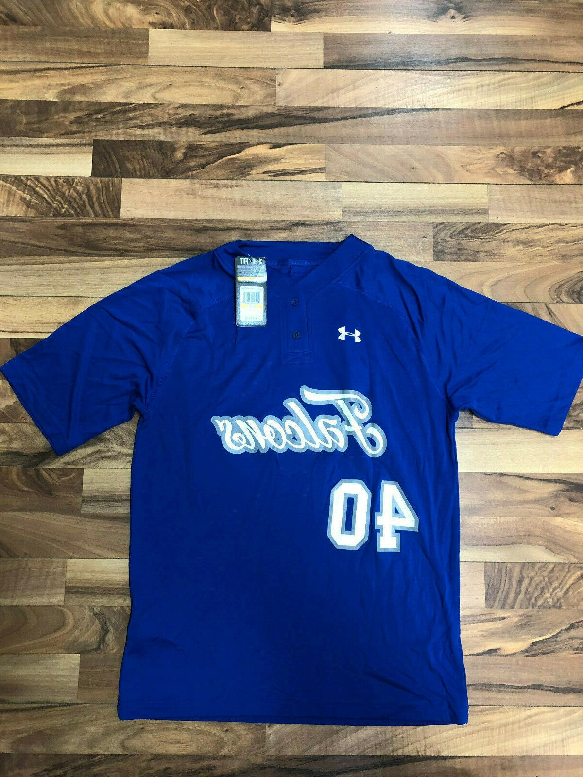 Lot of 20 NWT Under Armour Shirt Heat Gear Blue Mens L 2XL