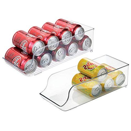 mdesign refrigerator soda can holder
