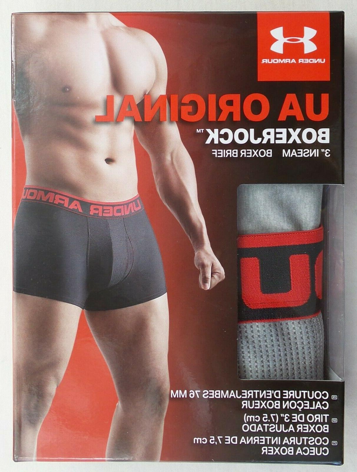 Under Armour Men's Brief Small XL Grey Red MSRP$20