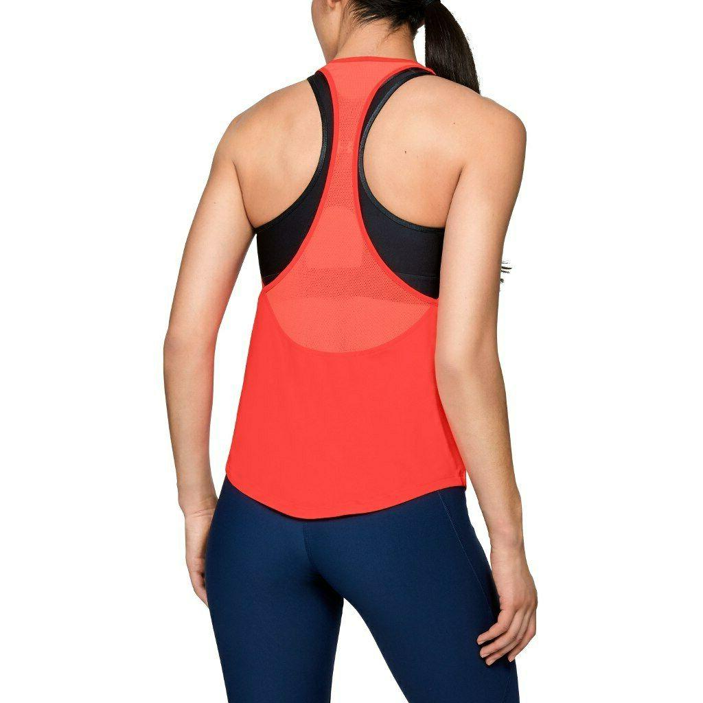 Under Armour HeatGear Racerback Coral