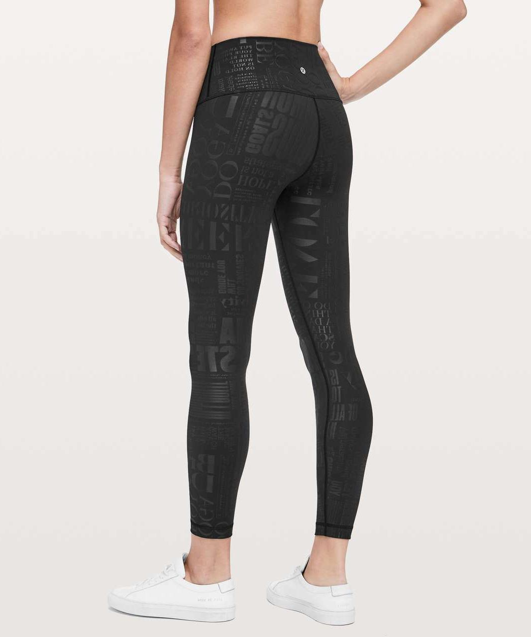 NWT Wunder Under Pant 6 7/8 20 Black