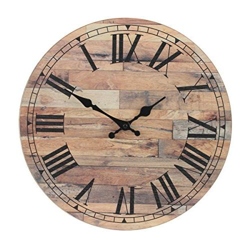 old fashioned round wood hanging