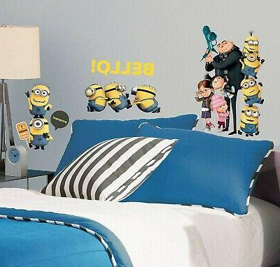 Roommates Despicable 2 Minions Giant Peel And Giant Wall Deca