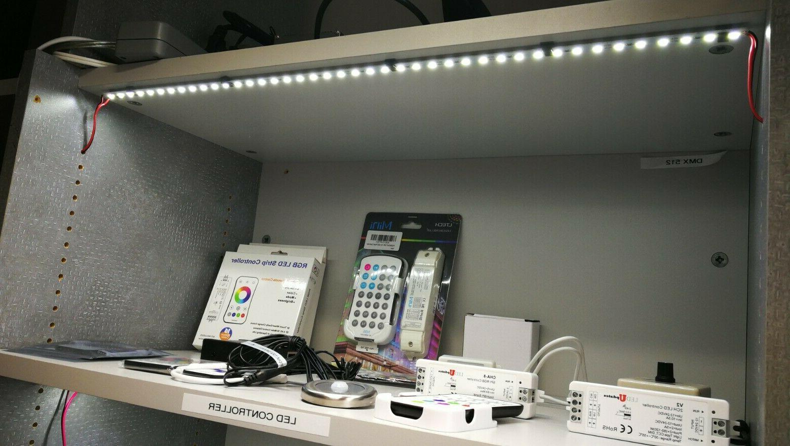 "Showcase LED Light 2pcs 20"" Cabinet Display Supply"