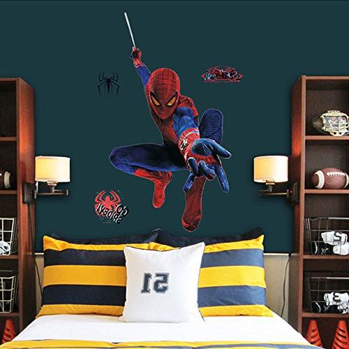 spiderman wall stickers decal