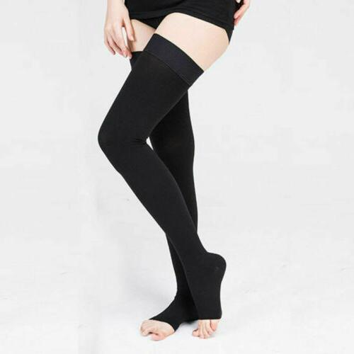 Thigh mmHg Socks Approved Sheer Compression