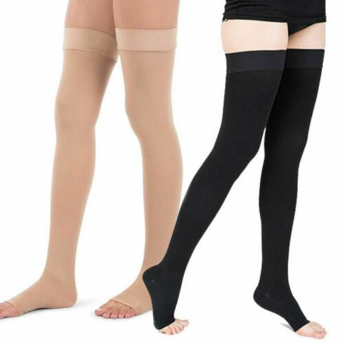 Thigh mmHg Sheer Compression Stockings