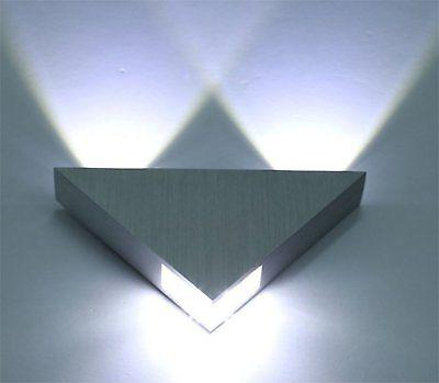 triangle wall light cold white