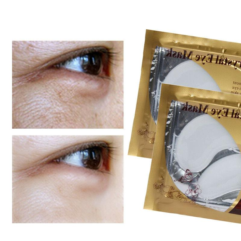 USA 20Pack Anti-Wrinkle Eye Mask Gold