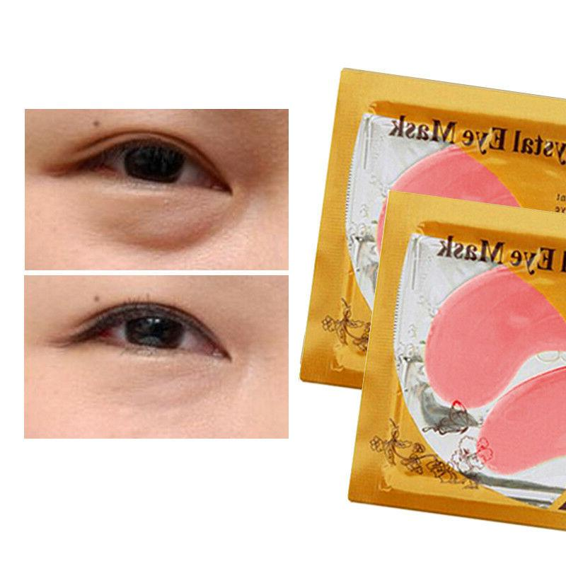 USA Anti-Wrinkle Circle Eye Patches Gold