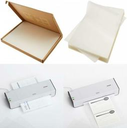Letter Size Laminating Pouch 9 x 11.5in, 100-pack AmazonBasi