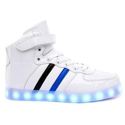 High Top Led Light Up Shoes 11 Colors Flashing Sneakers for