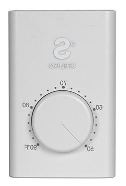 Line Voltage Thermostat, Electric heaters only. Stelpro SWT1