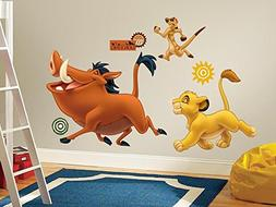 The Lion King Peel & Stick Giant Wall Decals 18 x 40in