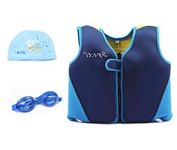 Little Boy Life Jacket - Minsk Kid Swim Vest Neoprene, Zippe