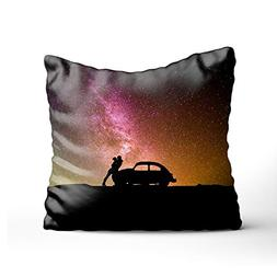 Atokker Lovers Under The Stars Decorative pillow cover Sofa