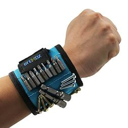 Magnetic Wristband, BLENDX Magnetic Wrist Band Tool Belt wit