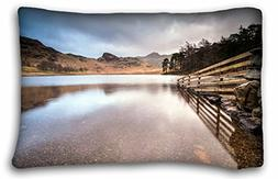 Generic Men's Landscapes lake fence landscape Size 20x30 Inc
