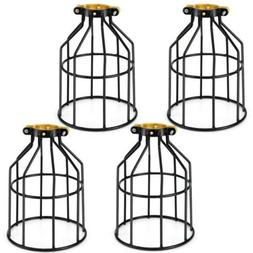 Kohree Metal Bulb Guard Lamp Cage, for Pendant Light, Lamp H