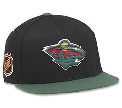 "American Needle Minnesota Wild""Blockhead"" 2-Tone Adjustable"