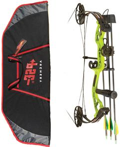 New 2018 PSE Mini BURNER Youth Compound Bow 14-40lb LIME GRE