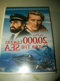 NEW/SEALED DVD! DISNEY'S 20,000 LEAGUES UNDER THE SEA! 2 DVD