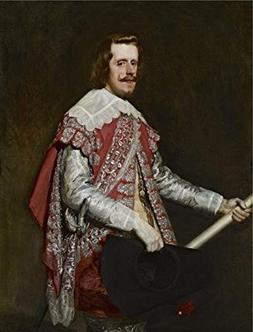 Oil Painting 'Diego Velazquez - King Philip IV Of Spain, 164