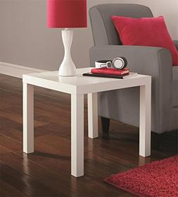 Parsons End Table, Multiple Colors