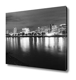Ashley Canvas Portland Oregon Waterfront Willamette River Fl