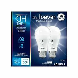 GE Lighting Reveal HD LED 9-watt , 650-Lumen A19 Light Bulb