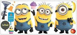 Roommates Rmk2081Gm Despicable Me 2 Minions Giant Peel And S