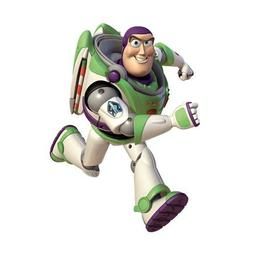 Room Mates Licensed Designs Toy Story Buzz Peel a