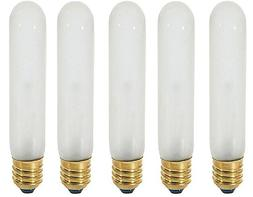 Satco S3899 5-Pack 120-Volt 60-Watt T10 Medium Base Light Bu