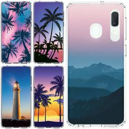 for Samsung Galaxy A20/A50 Slim Flexible TPU Skin Phone Case