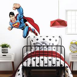 Superman Day Of Doom Giant Peel and Stick Wall Decal
