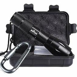 Tactical Portable Handheld Flashlights LED 1000 Lumens With