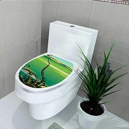 Philip C. Williams Toilet Seat Wall Stickers Paper Monster G