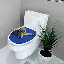 Philip C. Williams Toilet Seat Wall Stickers Paper Close up