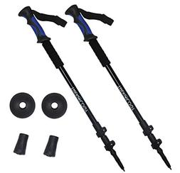 TREKONE Collapsible Lightweight Trekking Poles - Adjustable