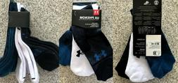 UNDER ARMOUR UA Run Lite Low Cut Running Socks Black Men's &
