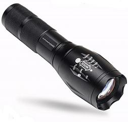 Didakay S3000 LM Ultra Bright - LED Tactical Flashlight Zoom