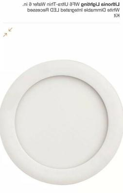"""Lithonia Lighting 13W Ultra Thin 6"""" Dimmable Recessed Ceilin"""